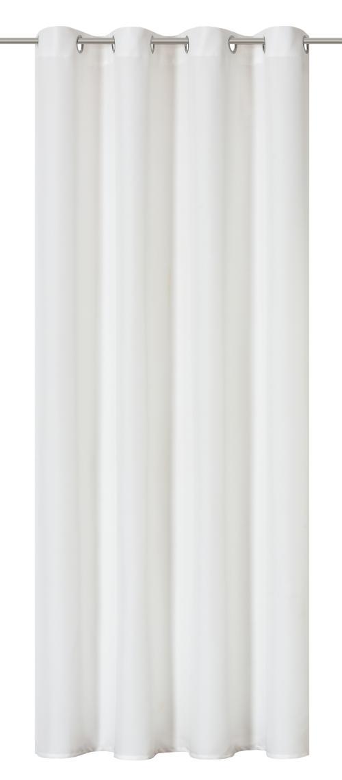 Ösenschal Elbersdrucke  Lino weiß