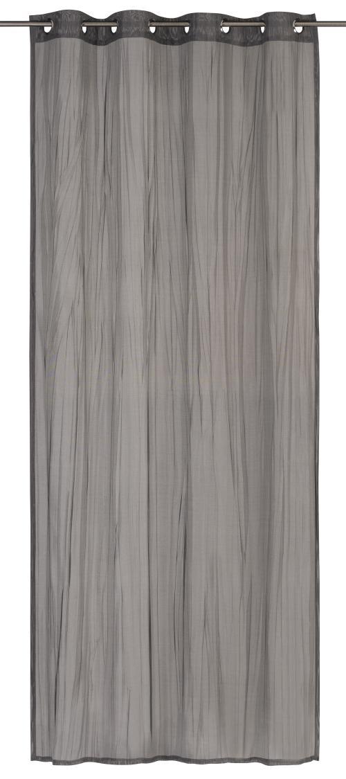 Ösenschal Elbersdrucke  Nomadi grau-silber-schwarz