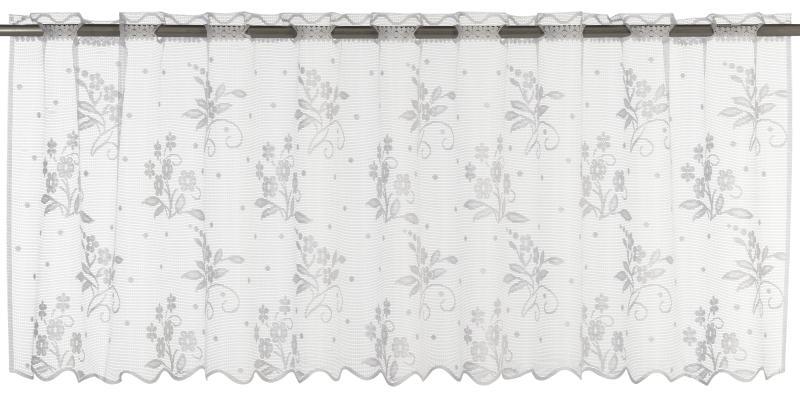 Bistrogardine Elbersdrucke  Bouquet weiß
