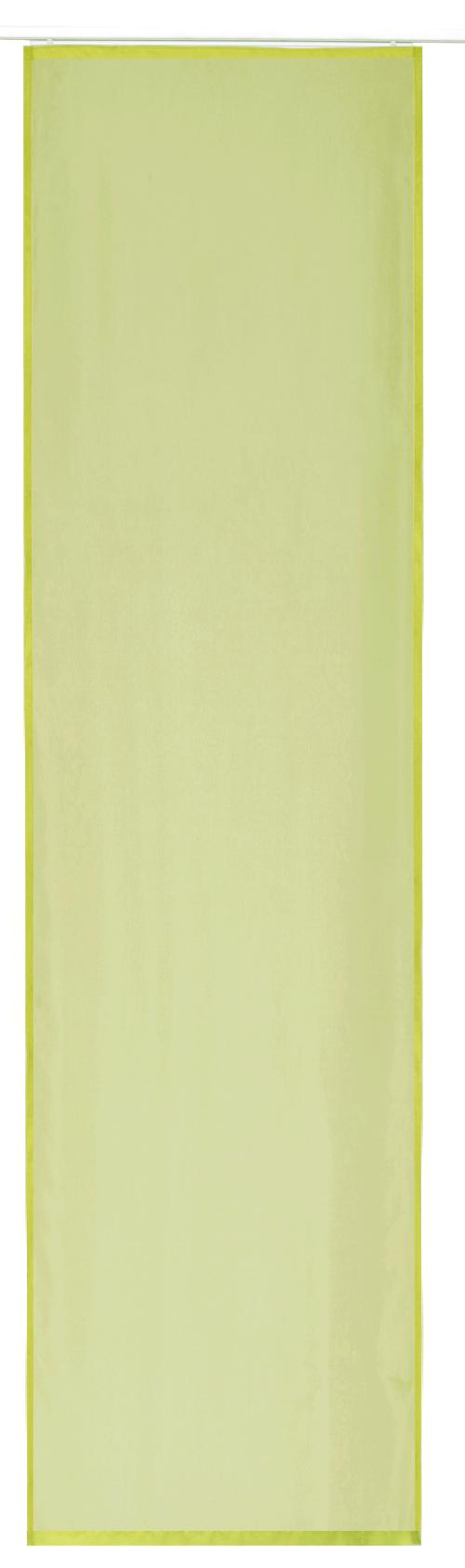 Flächenvorhang Elbersdrucke  Basic grün