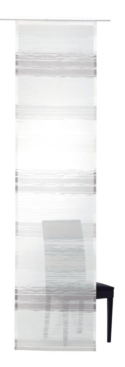 Flächenvorhang Elbersdrucke  Filou braun