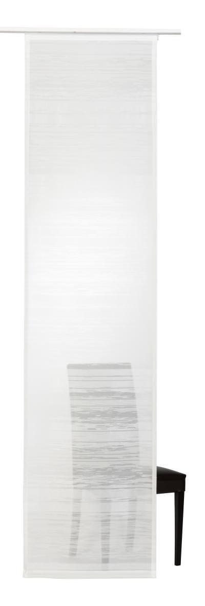 Flächenvorhang Elbersdrucke  Filou weiß