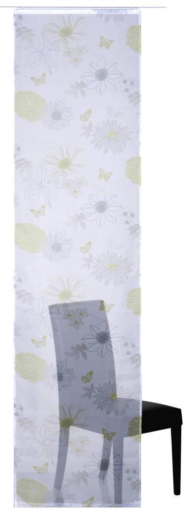 Flächenvorhang Elbersdrucke  Flower Mix grün