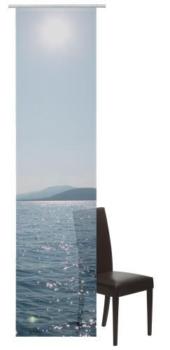 Flächenvorhang Elbersdrucke  Ocean blau
