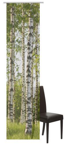 Flächenvorhang Elbersdrucke  Tree grün