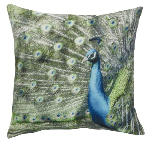 Kissen Elbersdrucke  Peacock grün