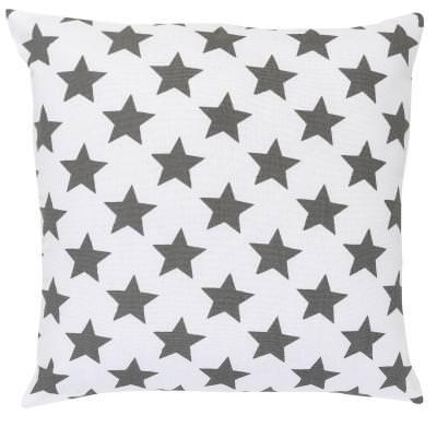Kissen Elbersdrucke  Star grau