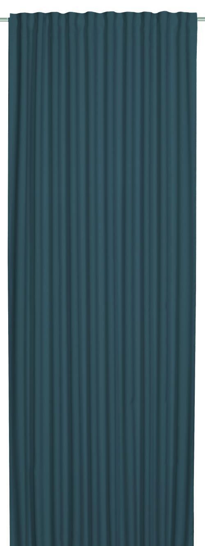 Schlaufenbandschal Elbersdrucke  Midnight blau-türkis
