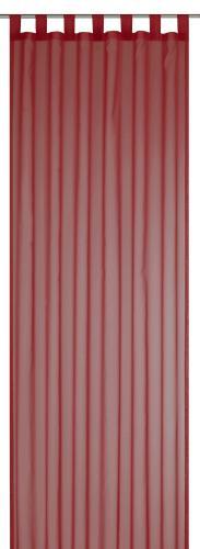 Schlaufenschal Elbersdrucke  Feel Good Uni rot