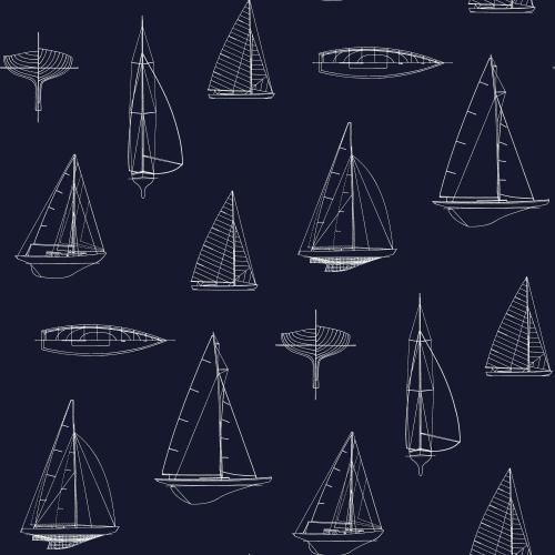Tapete Rasch Textil, Regatta Crew, 136428