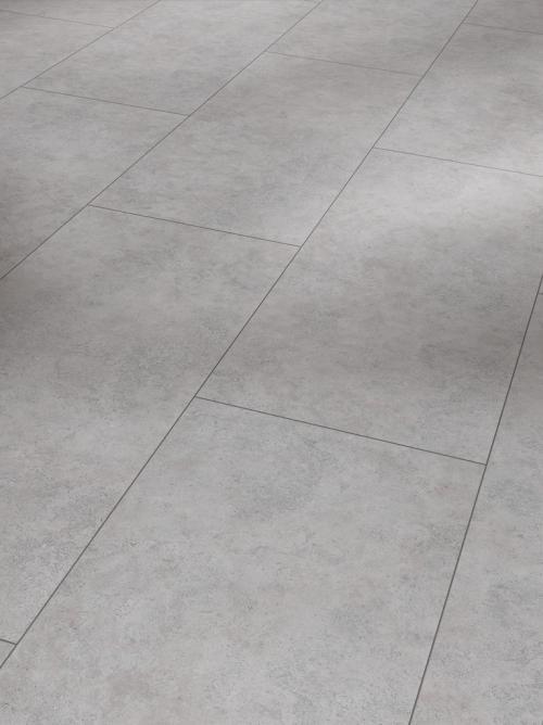 Parador Vinyl Trendtime 5.30, Beton grau, Fliesenoptik